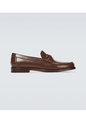Loafers with Interlocking G