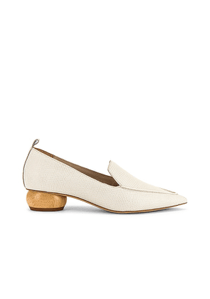 Jeffrey Campbell Viona Loafer in Ivory. Size 6, 7, 7.5, 8, 8.5, 9, 9.5.