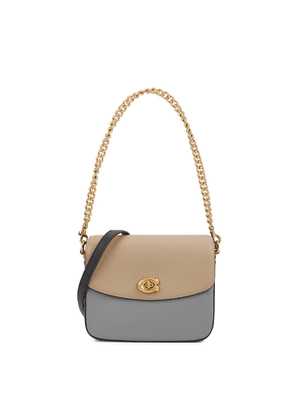 Coach Cassie 19 Grey Leather Cross-body Bag