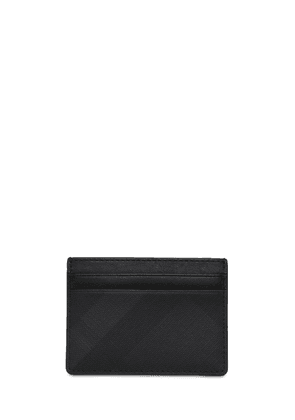 London Check Tech Card Holder