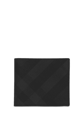 London Check Tech Billfold Wallet