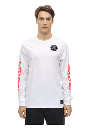 Psg L/s Cotton T-shirt