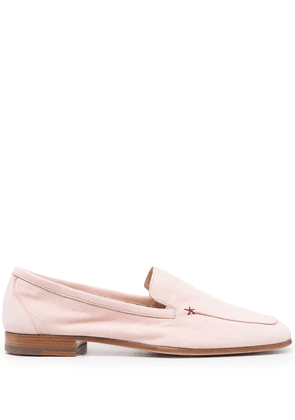 Fratelli Rossetti square-toe leafers - Pink