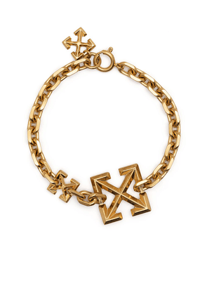 Off-White Arrows chain bracelet - Gold