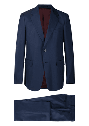 Gucci two-piece wool-blend suit - Blue