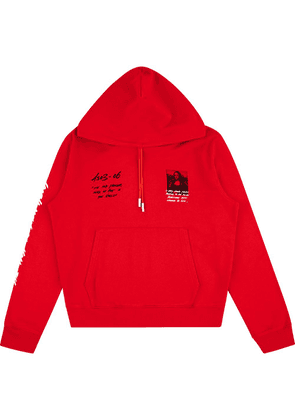 Off-White x MCA 'Mona Lisa' hoodie - Red