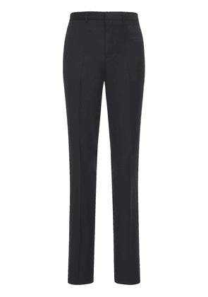 Bonded Patch Wool Slim Fit Formal Pants