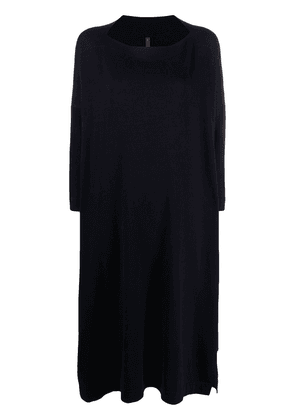 Daniela Gregis boat neck knit dress - Blue