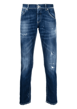 Dondup George ripped detailing skinny jeans - Blue