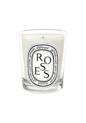 Diptyque Mini Candle Roses - White