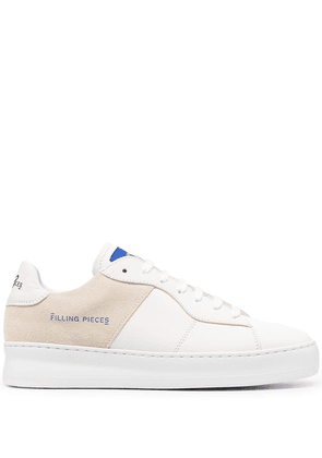 Filling Pieces low-top lace-up trainers - White