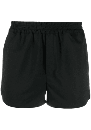 Ernest W. Baker elasticated waistband track shorts - Black