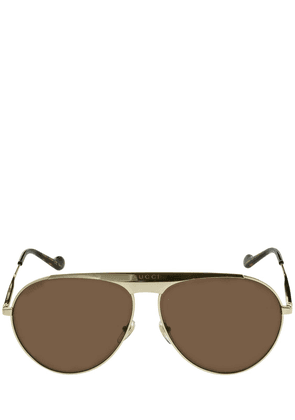 Gg0908s Pilot Metal Sunglasses