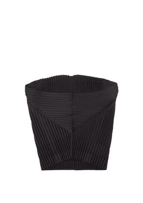 Homme Plissé Issey Miyake - Technical-pleated Snood - Mens - Black