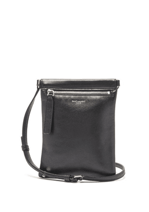 Saint Laurent - Sid Leather Cross-body Bag - Mens - Black