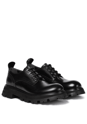 Wander leather Derby shoes