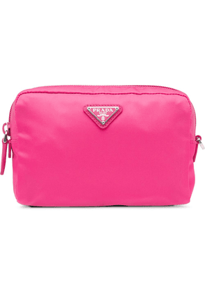 Prada Fabric Cosmetic Pouch - Pink