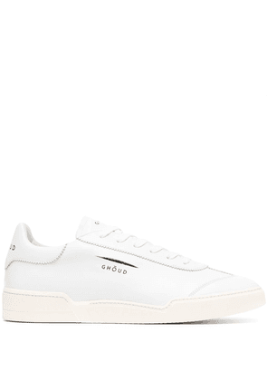 Ghoud low-top lace-up sneakers - White