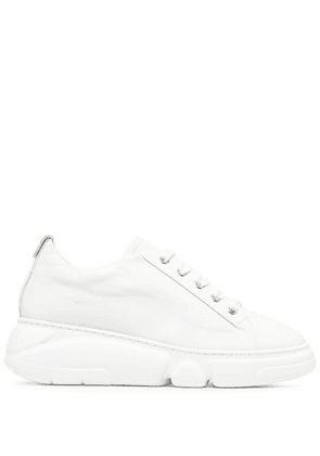 AGL leather chunky sneaker - White