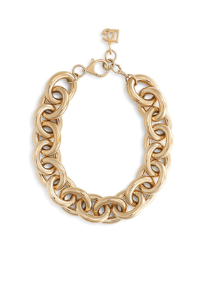 Dolce & Gabbana chunky rolo chain necklace - Gold