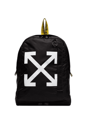 Off-White arrow print backpack - Black