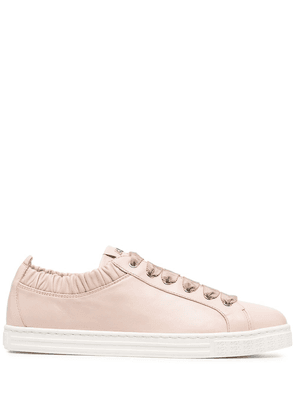 AGL Suzie leather sneaker with elastic - Pink