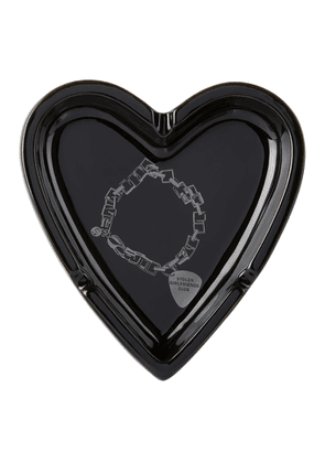 Stolen Girlfriends Club Black Death Metal Bracelet Heart Ashtray