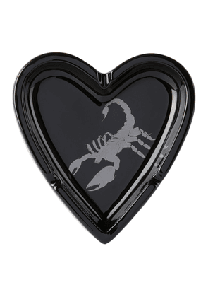 Stolen Girlfriends Club Black Scorpion Heart Ashtray