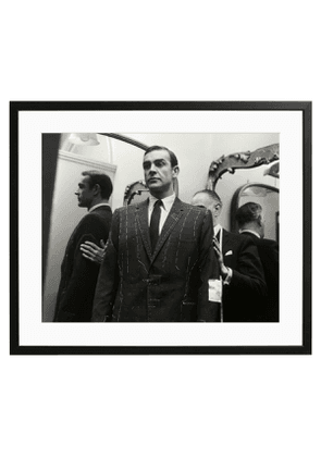 James Bond at Men's Outfitters, Black and White Print
