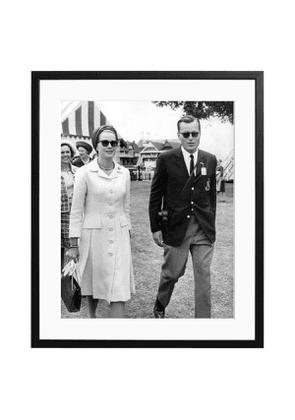 Grace and Jack Kelly, Black and White Print