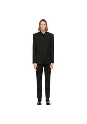 Saint Laurent Black Classic Suit