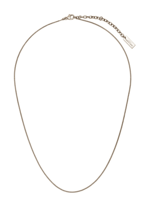 Saint Laurent curb chain necklace - Gold
