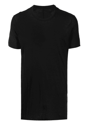 Boris Bidjan Saberi round neck short-sleeved T-shirt - Black