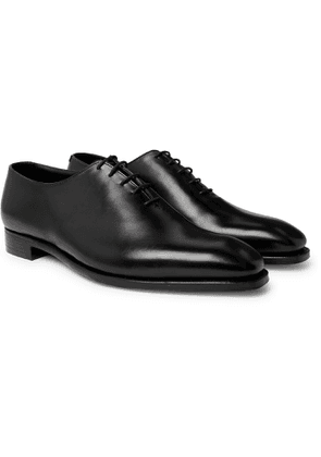 GEORGE CLEVERLEY - Alan 3 Whole-Cut Leather Oxford Shoes - Men - Black - UK 6
