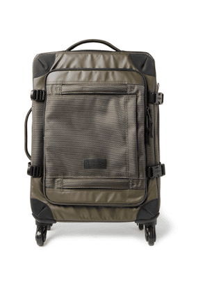 EASTPAK - Trans4 Coated-Canvas Carry-On Suitcase - Men - Green