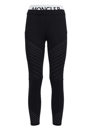 Logo Stretch Jersey Leggings