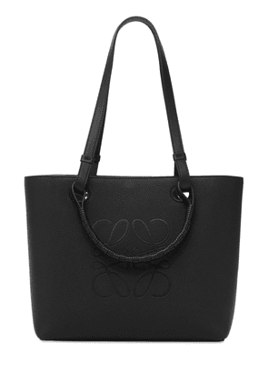 Anagram Leather Small Tote Bag
