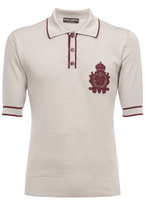 Silk Knit Polo