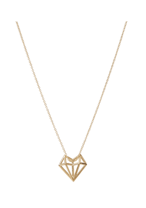 Exclusive to Mytheresa – Corazon 9kt yellow gold necklace