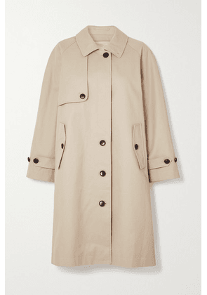 FRAME - Cotton-twill Trench Coat - Beige