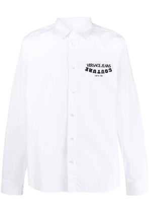 Versace Jeans Couture logo-printed shirt - White
