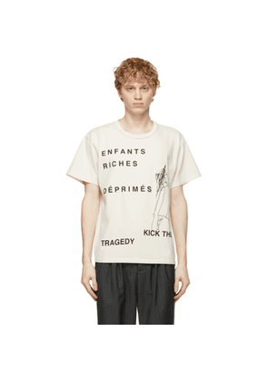 Enfants Riches Deprimes Off-White Kick The Tragedy T-Shirt