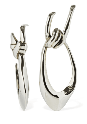 Sculptured Mismatched Earrings