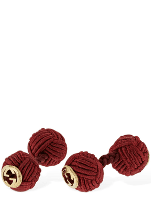 Interlocking G Rope Cufflinks