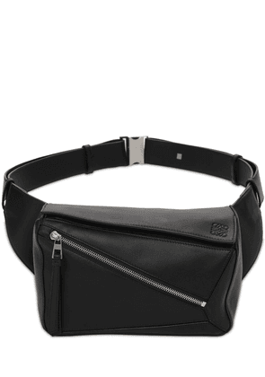 Puzzle Small Leather Belt Bag