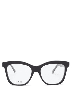 Dior - 30montaignemini Butterfly Acetate Glasses - Womens - Black
