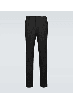 Formal wool suit pants