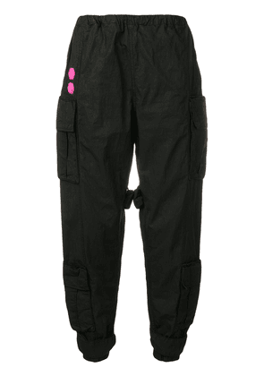 Off-White loose-fit track trousers - Black