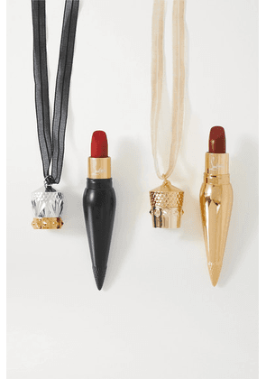 Christian Louboutin Beauty - Lip Coffret Duo - Colorless