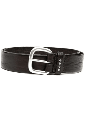 Anderson's creased leather belt - Brown